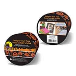 "Halloween Duct Tape ~ 1.88"" x 2 yards"