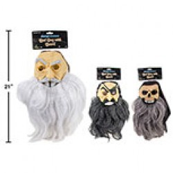Halloween Bad Guys Masks with Beards