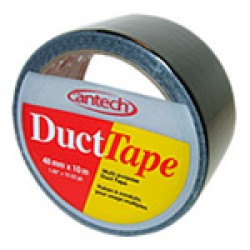 Cantech Colored Duct Tape ~ Black