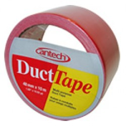 Cantech Colored Duct Tape ~ Red