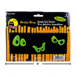 Halloween Googly Eyes Stickers