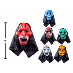 Halloween Adult EVA Mask with Hood