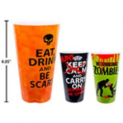 Halloween Plastic Cup ~ 500ml