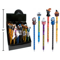Halloween Ball Pen with Topper ~ 24 per display