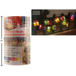 "Christmas ""Merry Christmas"" LED String Lights ~ 3.6'"
