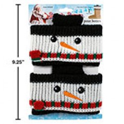 Snowman Boot Cuffs ~ 2 per pack