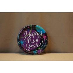 "New Year's Stellar 7"" Plates ~ 8 per pack"