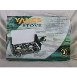 Yanes Double Burner Propane Stove ~ 17,000 BTU