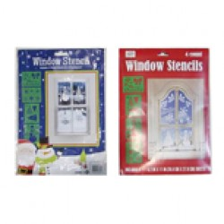 Christmas Window Stencils ~ 4 per pack