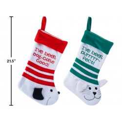 "19"" Dog / Cat Christmas Stocking"