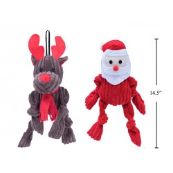 Christmas Pet Toy with Squeaker ~ 13.75""