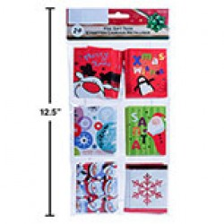 Christmas Foil Gift Tags ~ 24 per pack