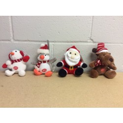 "Christmas Musical Plush ~ 6"" High"