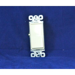 Decorative Single Pole Switch ~ Ivory
