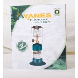 Yanes Single Mantle Propane Lantern ~ 100W