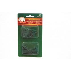 Christmas Ornament Hooks - Green ~ 150/pk