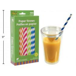 Paper Straws ~ 144 per pack
