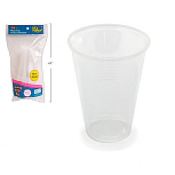 Plastic Clear Party Cups - 16oz ~ 16 per pack