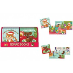 Christmas Board Books ~ 2 assorted