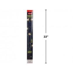 """Sparklers - 20"""" ~ 5 per pack ~ 10 packs per display"""
