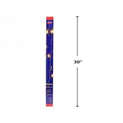 """Sparklers - 28"""" ~ 3 per pack ~ 10 packs per display"""