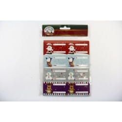 Christmas Peel & Stick Gift Tags ~ 80 per pack