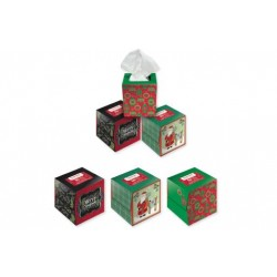Christmas Boxed Facial Tissue ~ 50 sheets
