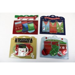 Christmas Gift Card Holders ~ 6 per pack