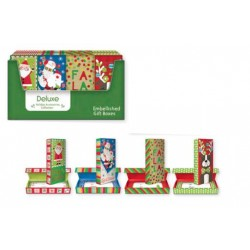 Christmas Book Shaped Gift Box (opens like a book) ~ 1 per pack