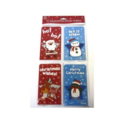 Christmas Money Cards ~ 4 per pack