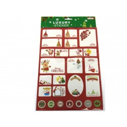 Christmas Peel & Stick Gift Tags ~ 50 per pack