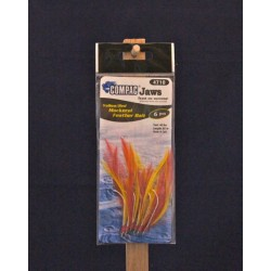 Compac Mackerel Feather Bait ~ 6/string