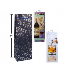 Bottle Gift Bags ~ Drink Glasses