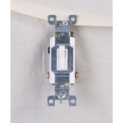 3-Way Switch ~ White