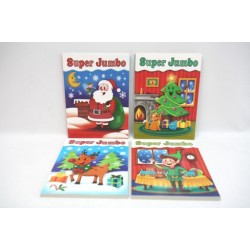 Christmas Super Jumbo Coloring Book