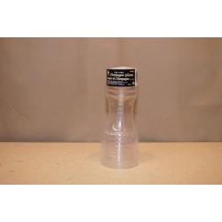 Clear Plastic Champagne Glasses - 4oz ~ 6 per sleeve
