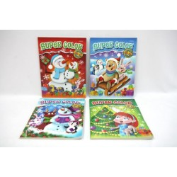 Christmas Super Coloring Book