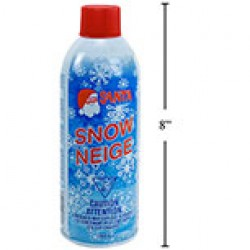 Christmas Spray Snow ~ 368gr tin