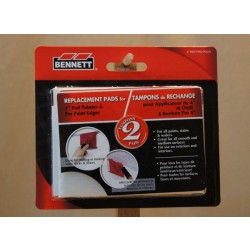 "Bennett 4"" Pro Paint Edger Replacement Pads ~ 2 per pack"