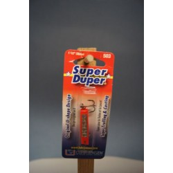 Super Duper Lure 503 Series ~ Fire Silver Prism