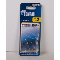 Compac Weedless Hooks