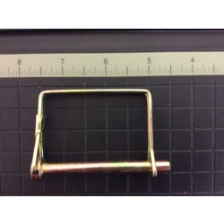 "Quick Pin w/Square Spring ~ 1/4"" x 2-1/4"""