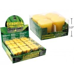 Citronella Votive Candles ~ 4 per pack
