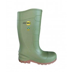 Jackfield Polyurethane Green Boots ~ CSA Approved