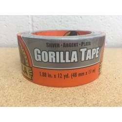 "Gorilla Silver Tape ~ 1.88"" x 12yds"