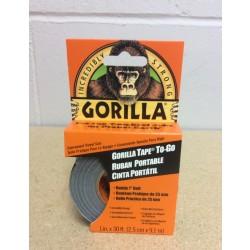 "Gorilla Tape To-Go ~ 1"" x 30' ~ Handy Pack"