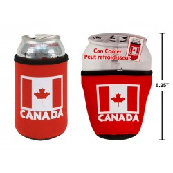 "Canada Can Cooler ~ 2.75"" x 4""H"