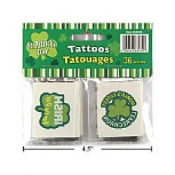 St. Patrick's Day Tattoos ~ 36/pk