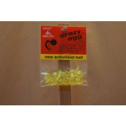 Magic Crazy Eggs - Chartreuse ~ 10 per pack