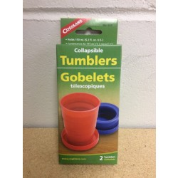 Coghlan's Collapsible Tumblers ~ 2 per pack